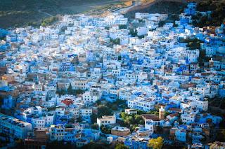 Liburan Seru Di Chefchaouen Maroko