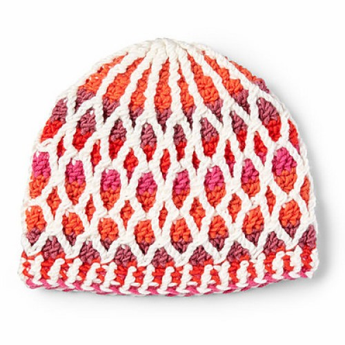 Honeycomb Hat - Free Pattern