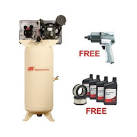 80 gallon 2 stage air compressor for powder coating and sandblasting