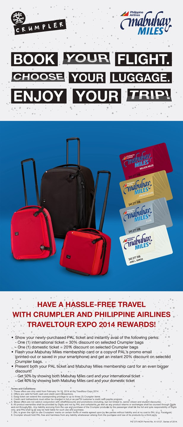Crumpler and Philippine Airlines Promo