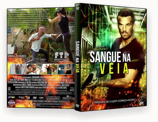 CAPA DVD – Sangue Na Veia Dublado – ISO