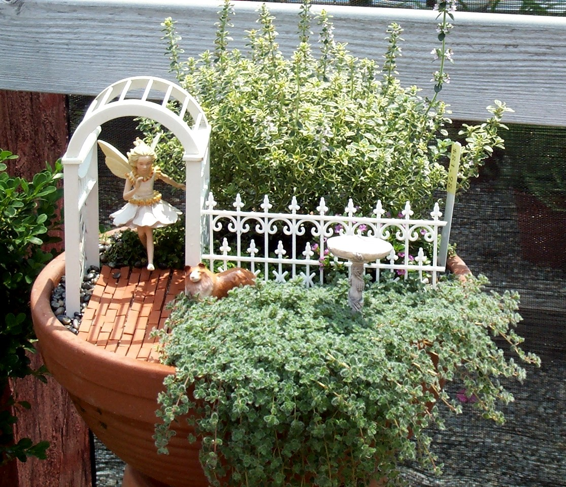 Edible Landscaping And Fairy Gardens: Bloomers Flowers Blog - Wilmington