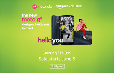 How to Buy/Order Moto G6, Moto G6 Play from Online Sale