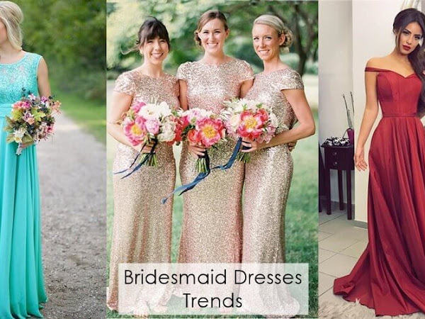 2019 Spring Bridesmaid Dresses Trends