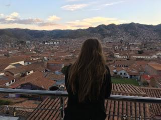 vista de cuzco desde la altura