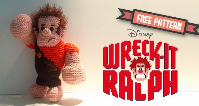 http://www.dendennis.nl/amigurumi-designs/free-pattern-ralph-from-disneys-wreck-it-ralph/