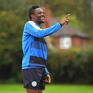 Ahmed Musa bids farewell to Leicester City to Al-Nassr of Saudi Arabia