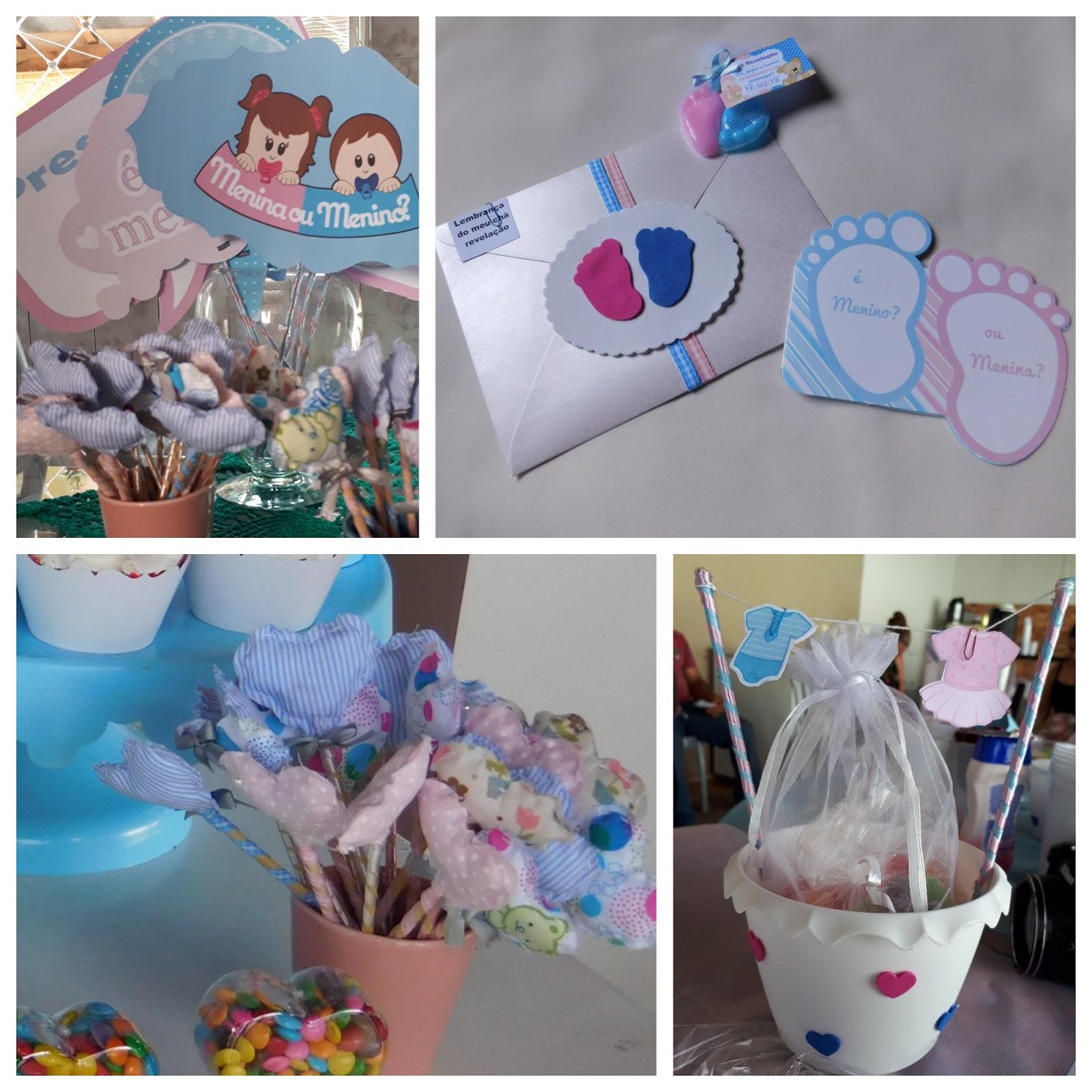 decoração chá de bebe
