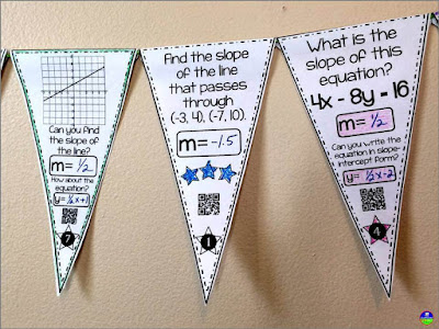 Slope math pennant