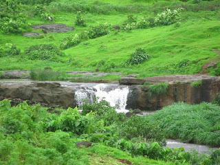 Palasdhari pond waterfall