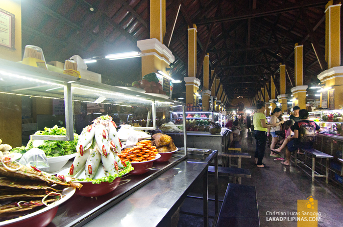 Hoi An Central Market Food Hall