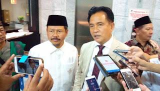Kuasa hukum Hizbut Tahrir Indonesia atau biasa disebut HTI Prof. Yusril Ihza Mahendra optimis pihaknya akan memenangkan gugatan Surat Keputusan Menteri Hukum dan Hak Asasi Manusia tentang Pembubaran HTI di Pengadilan Tata Usaha Negara atau PTUN pada, Senin (7/5/2018).