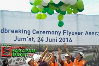 Fly Over Asera Kota Harapan Indah