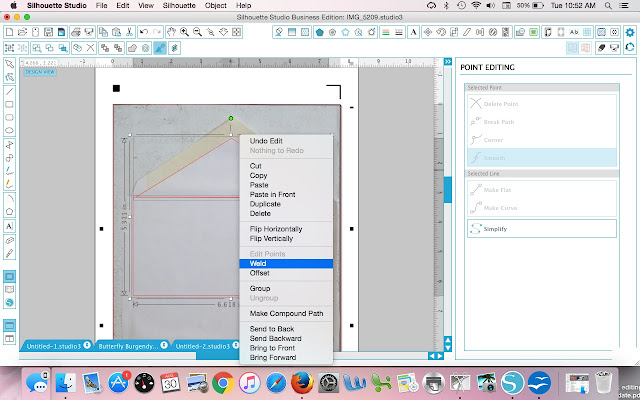 Welding tutorial Silhouette Studio Silhouette CAMEO  tutorials