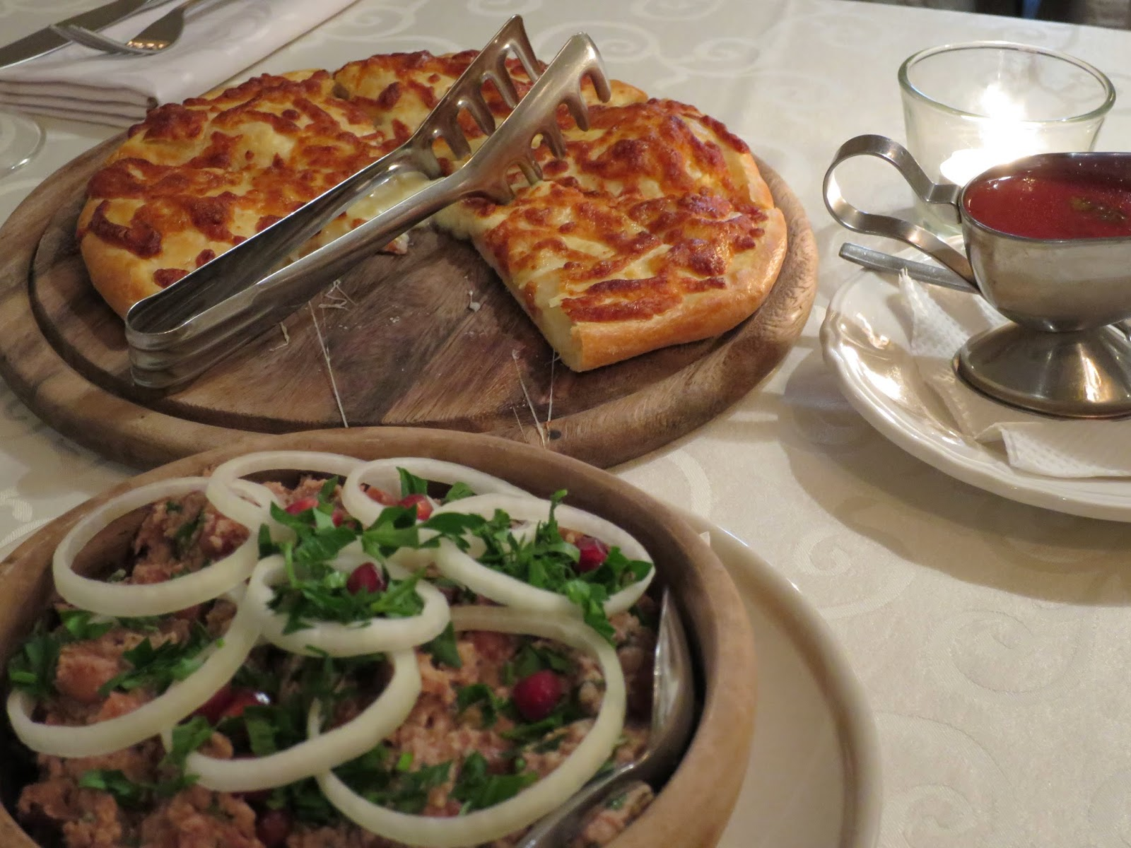 Tanjan matkamittari Georgialainen keittiö hurmaa Pietarissa