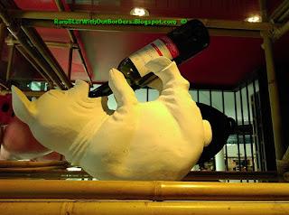 Pig figurine, Naughty Nuri's Restaurant, Life Centre, KL, Malaysia