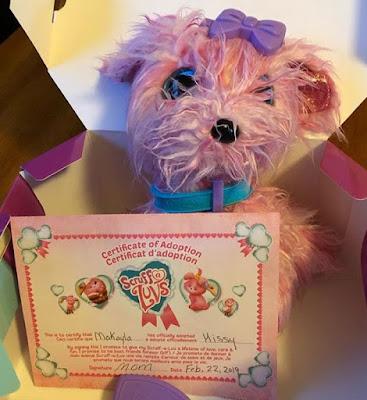 Розовая игрушка Scruff-a-Luvs