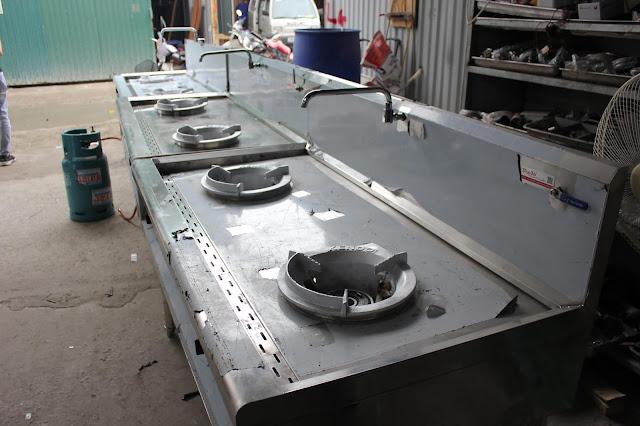 Hệ thống bếp á công nghiệp cao cấp