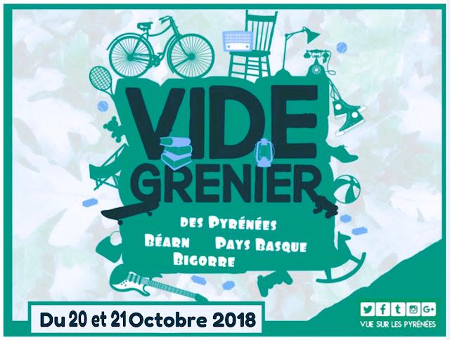 Vide greniers Pyrénées 2018 Octobre #3 Pays Basque