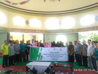 DEMA UIN Mataram Resmi Dilantik, Forum Komunikasi Mahasiswa Tafsir Hadis Indonesia Regional NTB Deklarasi.
