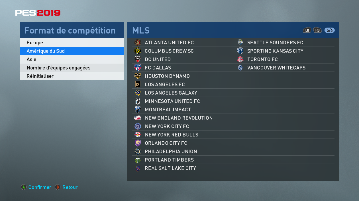 PES 2019 Replace Fake leagues & Add other Teams for PTE 4 0