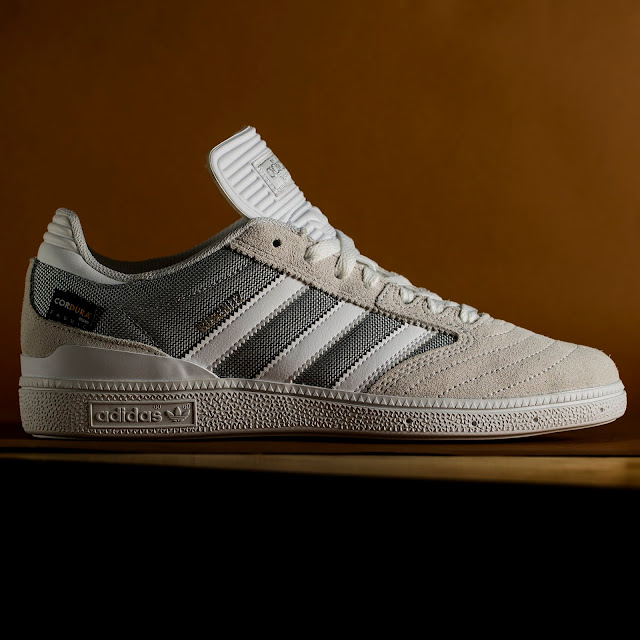 e7b9bafe42 The adidas Skateboarding Busenitz pro made with premium Cordura fabric is  live at CCS.com. They re made to have the shit kicked out of them.
