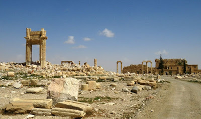 Recapture of Palmyra reveals more shattered antiquities