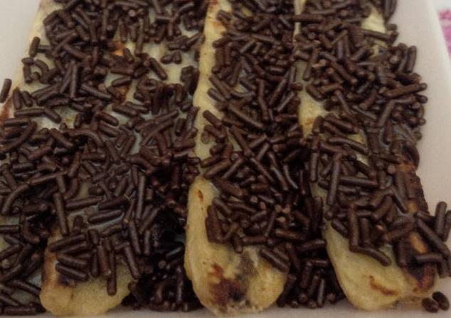 Resep Pisang Coklat Susu