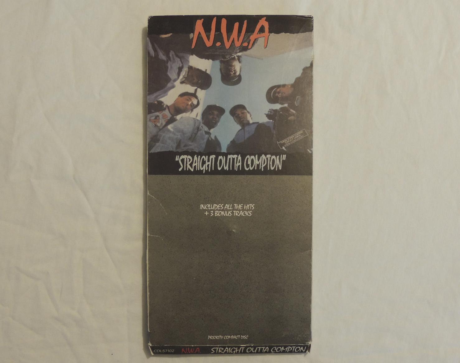 N.W.A. Straight Outta Compton CD Longbox 1988 66606523a34f
