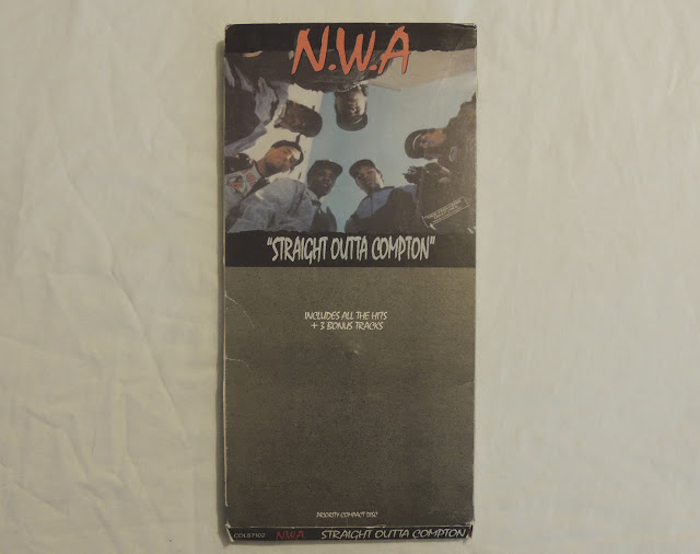 N.W.A. Straight Outta Compton CD Longbox 1988