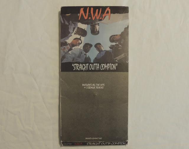 N.W.A. Straight Outta Compton CD Longbox 1988