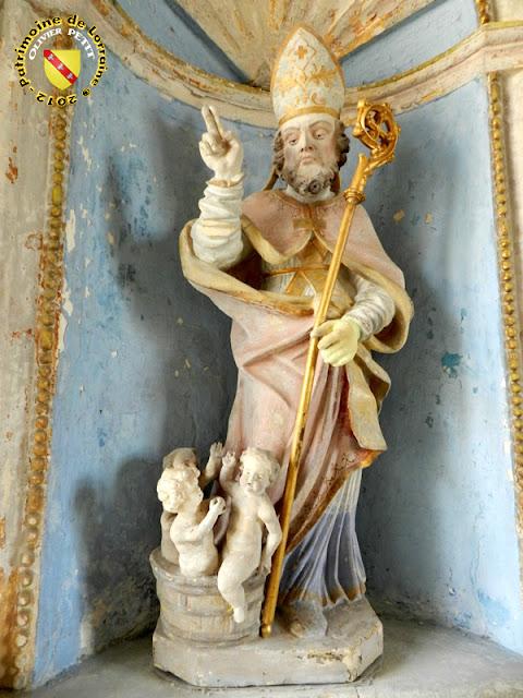 Saint-Nicolas (XVIIIe siècle) - Statue en pierre - Église de Sepvigny (55)
