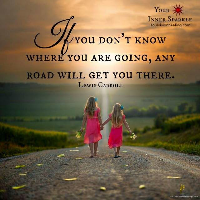 If You Don't Know Where You Are Going, Any Road Will Get