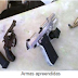Quatro irmãos são presos com armas em Crateús