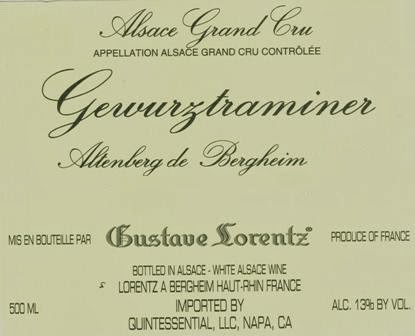 Altenberg de Bergheim Wine