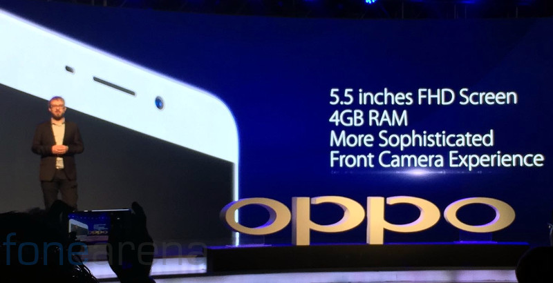 OPPO F1 Plus launched in India for Rs. 26990