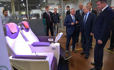 Vladimir Putin visited Ryazan Tannery and got an overview of the company's main activities.