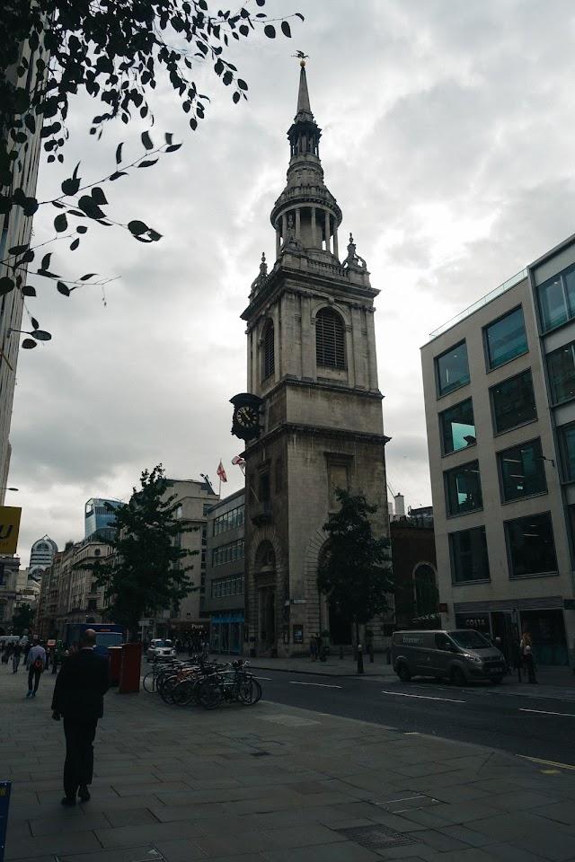 セント・メアリ・ル・ボウ教会(St Mary-le-Bow)