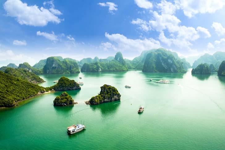 Halong Bay; Vietnam