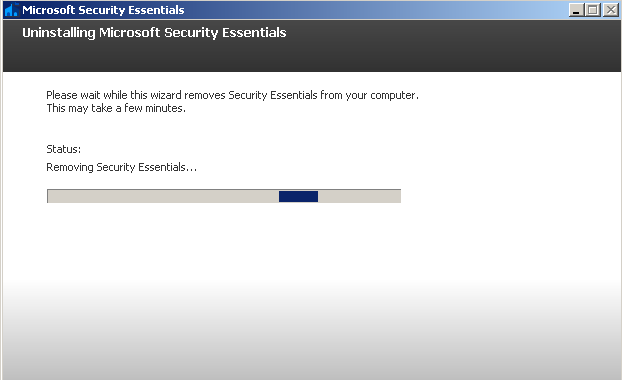 Why I decided to uninstall Microsoft Security Essentials Antivirus?