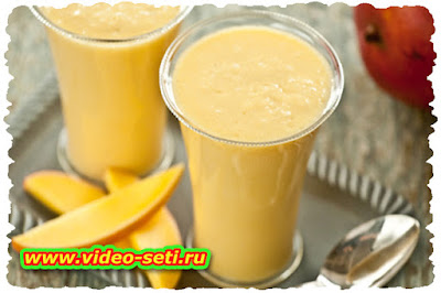 How To Make Mango Yogurt Shake