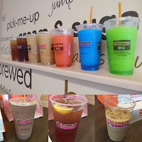 Dunkin Donuts Summer coffees