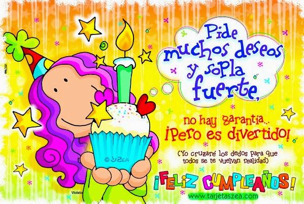 Tarjetas de Feliz cumpleaños Para tu Amiga o amigo