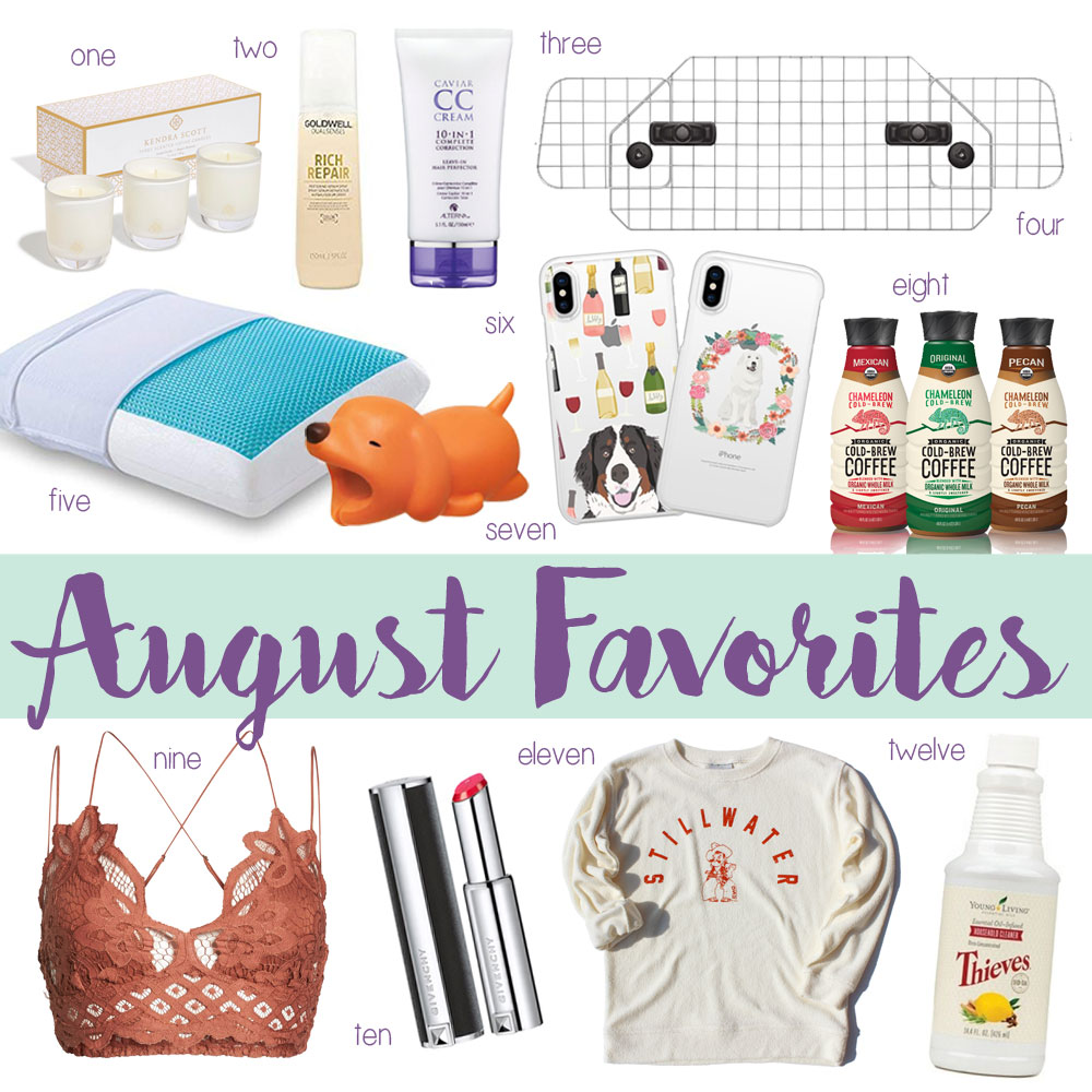 Amanda's OK August Favorites