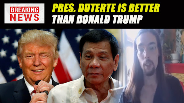 WATCH | AN AMERICAN REACTION : PRES. DUTERTE IS BETTER THAN DONALD TRUMP