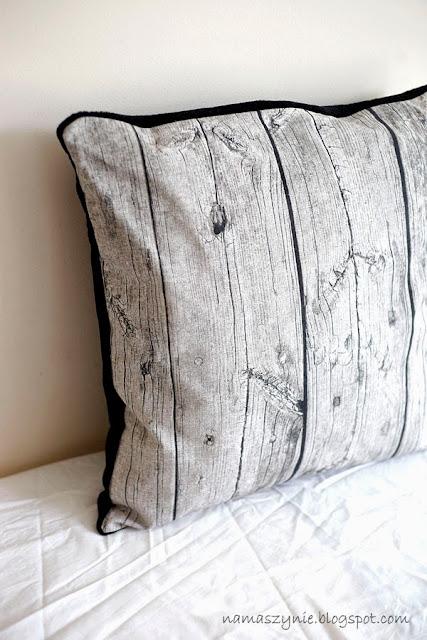 deska, drewniane, hipsta, nadruk, Poduchy, z drewna, wood, drewno, pillow, zamek kryty, polar deluxe,