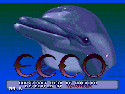 【MD】小海豚(Ecco),特別又可愛的海底過關冒險遊戲!