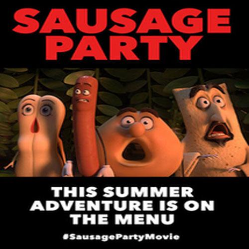 Sausage Party, Sausage Party Poster, Sausage Party Film, Sausage Party Synopsis, Sausage Party Review, Sausage Party Trailer
