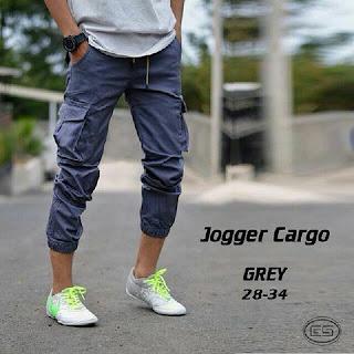 celana jogger, celana jogger cargo, celana jogger pria, celana cargo