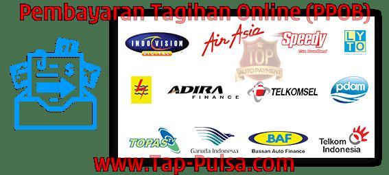 Tap-Pulsa.Com Agen Pulsa Payment Pembayaran Tagihan Online PPOB Termurah